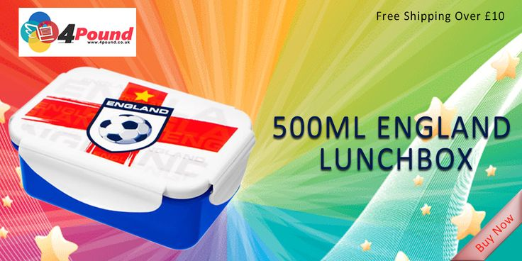 Order amazing Product 500ml England LunchBox Only at #4pound store