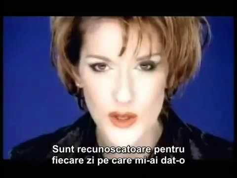 Celine Dion   Because you love me /  Pentru ca m-ai iubit