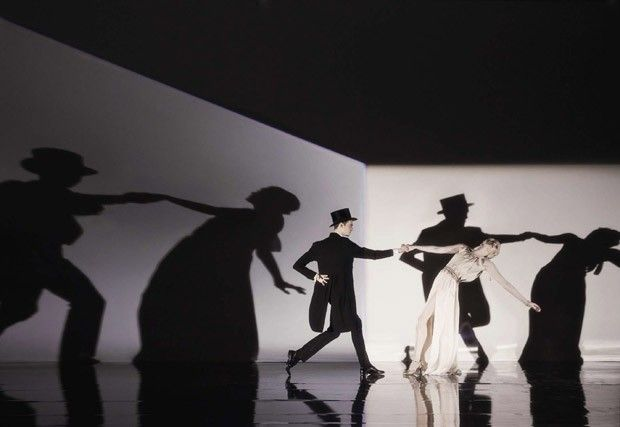 la_gatta_ciara: Steven Meisel для Vogue Italia. Фотосессия в стиле Фреда Астера и Джинджер Роджерс.