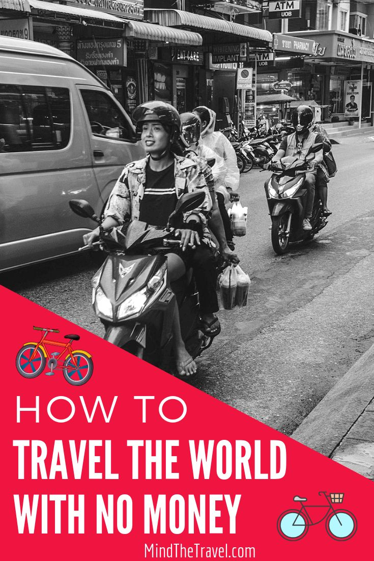 How to Travel the World With No Money