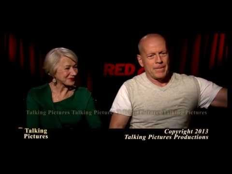 """Bruce Willis & Helen Mirren talk with Tony about the new film """"RED 2"""""""
