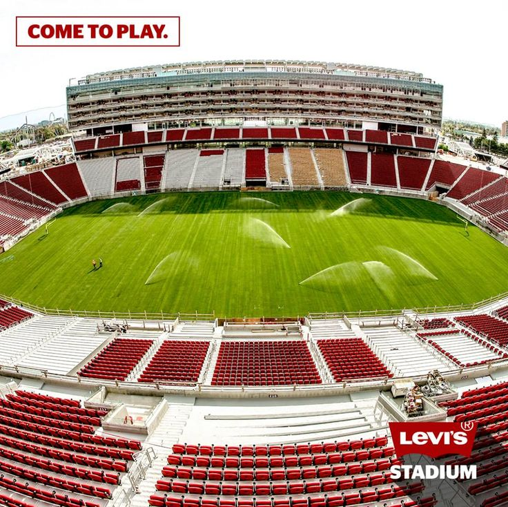 Levi's Stadium - The San Francisco 49ers new home. It will also host Super Bowl 50 in February 2016.