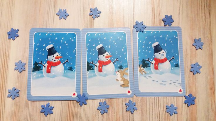 С днем рождения, Снеговик! Игровое занятие для детей 4-6 лет (обзор + материалы для скачивания)