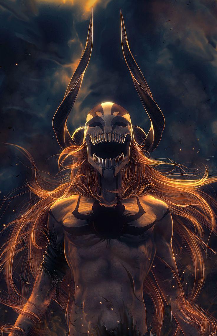 Bleach anime series character kurosaki ichigo mask horn wallpaper | 1440x2233 | 610416 | WallpaperUP