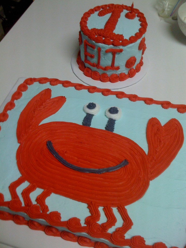 crab birthday cake - Bing Images