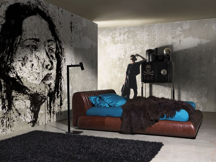 Melancholy www.wallanddeco.com #wallpaper, #wallcovering, #cartedaparati