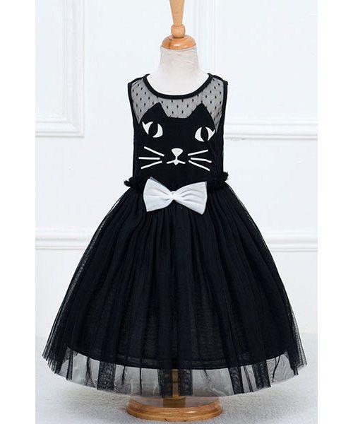 Spliced Girl's Dress