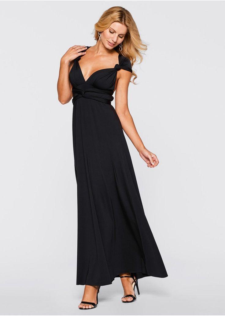 Το τέλειο φόρεμα για τις ιδιαίτερες περιστάσεις! Με οδηγίες χρήσης που εξηγούν πως να φορέσετε το φόρεμα με 6 διαφορετικούς τρόπους! Μήκος στο μέγεθος 38 περίπου 146 εκ. Από 85% πολυέστερ, 15% ελαστάν.