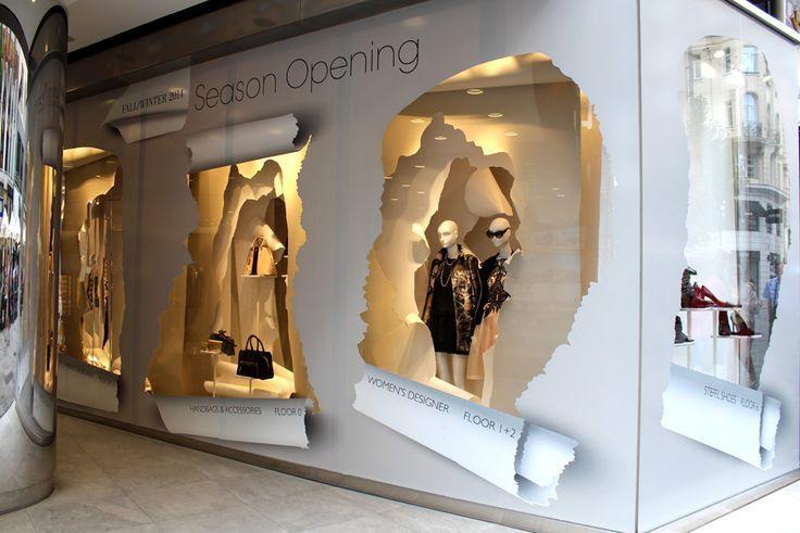 """STEFFL The Department Store in Vienna presents: """"Season Opening"""", pinned by Ton van der Veer"""
