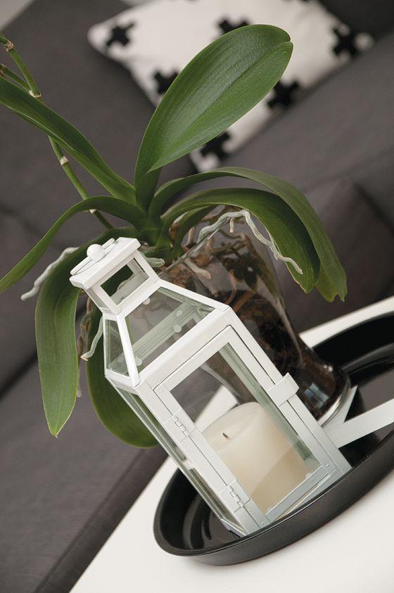 krásna lucerna od Šárky z Ma Maison Blanche ♥