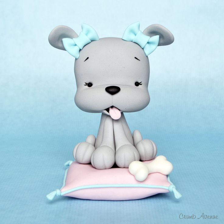 Polymer Clay Puppy Tutorial...if you click on the tutorial tab there are a lot of other polymer clay tutorials.