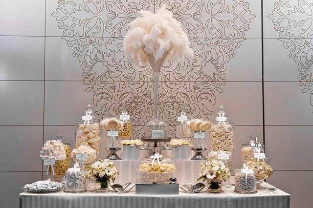 Great Gatsby decorating ideas | Vintage 20s, Great Gatsby Wedding Inspiration | Mazelmoments.com
