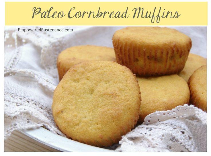 Paleo Cornbread Muffins (or simply coconut flour muffins)