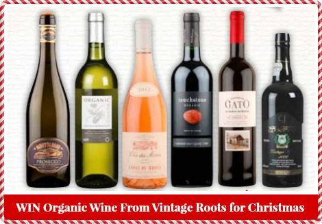 WIN 6 Bottles Of Organic Wine from VINTAGE ROOTS (UK ONLY) #KMSXmas #WIN #PINITTOWINIT #Competition