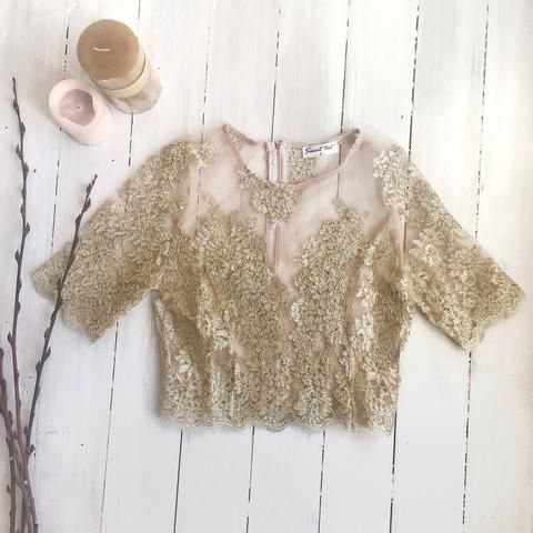 TWILIGHT TOP - GOLD - Stunner Boutique