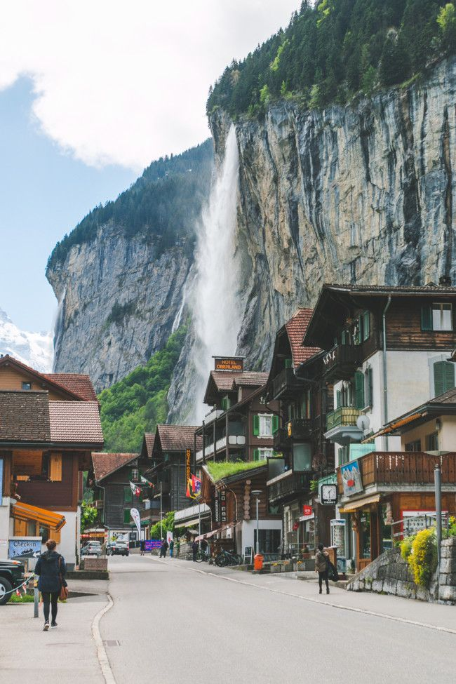 The Most Beautiful Place in the World? Lauterbrunnen, Switzerland.