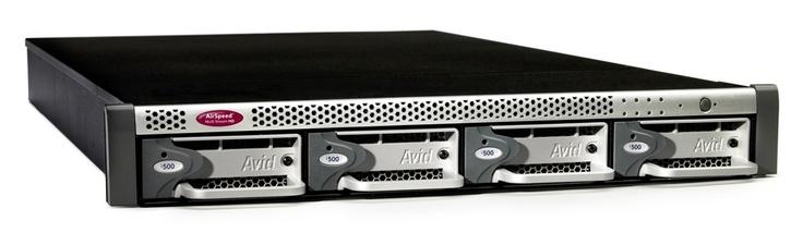 Servidor air speed HD Avid. / Avid HD air speed server.