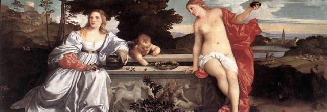 Istoria Artei: Amor sacru și amor profan - Tițian