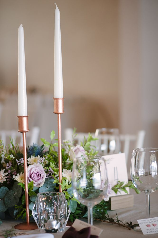 Copper Candle Holders | Image: Tanya Jacobs