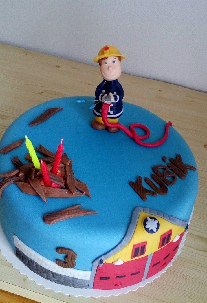 dort požárník Sam ( Cake Fireman Sam )  https://www.facebook.com/Dorty-Majka-250373205101440/