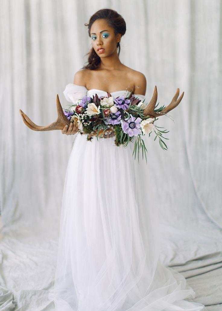 Romantic Light Blue Wedding Dress Arsenia by Milamira Bridal For A Whimsical Bridal Portraits #bridalportraits #blueweddingdress