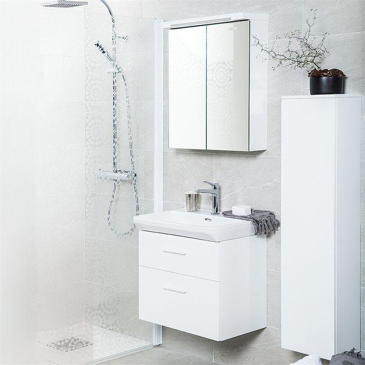 Tvättställskåp Svedbergs Forma Vit - Tvättställsskåp