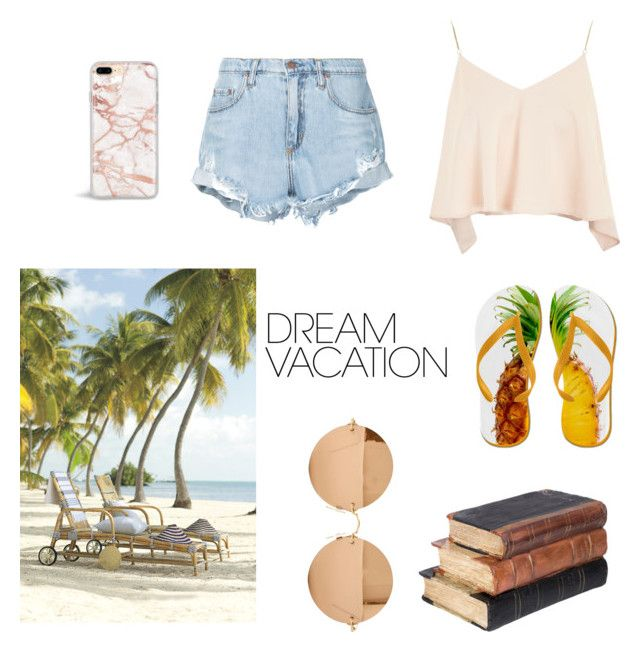 """""""#PolyPresents: Dream Vacation"""" by jasmimosa on Polyvore featuring Topshop, Nobody Denim, Victoria Beckham, contestentry and polyPresents"""