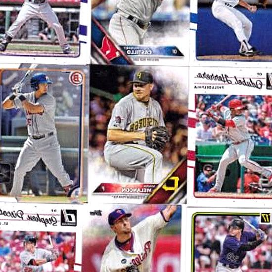 . lot. 2015 topps chrome 2014 bowman MVP. C $17.49. Huge 800 Card Lot Baseball Topps Bowman Inserts Colors Rookies Refractors. C $26.92. Huge 2017 Topps Heritage INSERT Lot SP 1968 game Bryant Flashbacks set READ! Showing slide 1 of 4 - Shop by Card Manufacturer. 2017 Topps Baseball Factory Sealed Complete Set Hobby Edition. Baseball RC Lots.. in the 800 count box it looks like the set is short by about 50-60 cards. #BaseballCards #baseballcard #Baseball #Cards #Sports #Deals #Collectibles…