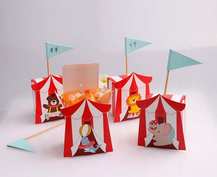 Goedkope (50 pieces/lot) Hot Selling Bear Lion Elephant Dolphin Candy Box With Flag For Birthday Party Children's Day Free Shipping a lot, koop Kwaliteit Event& party benodigdheden rechtstreeks van Leveranciers van China:  ( 50 stuks/partij) het hete verkopen dragen leeuw olifant dolfijn snoep doos met vlag voor verjaardagsfeestje kind