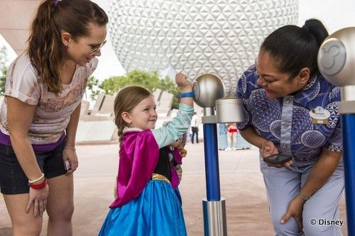 MagicBands Become Act As Park Admission Media