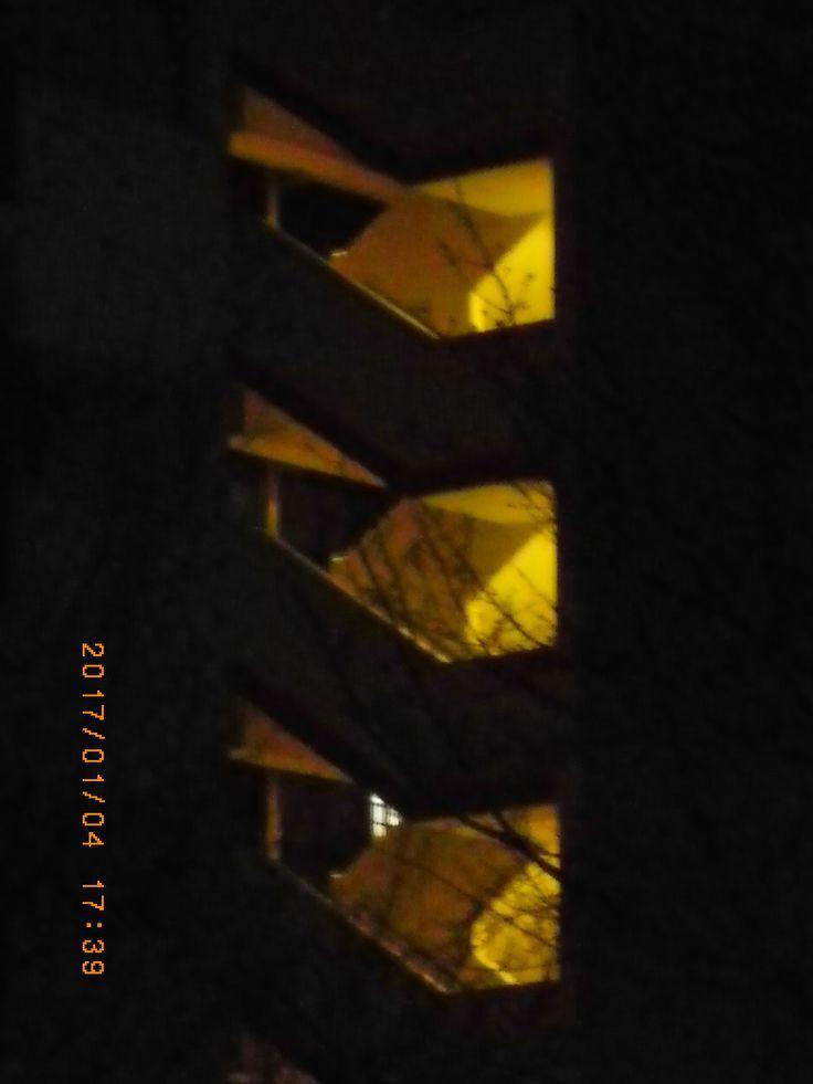 Various light.  #my photo #night light #light #night view