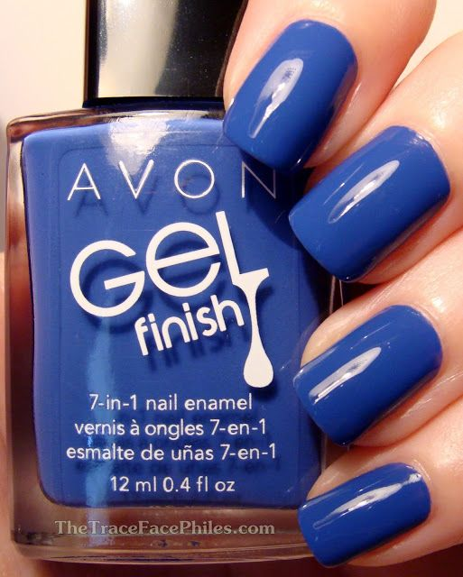 The TraceFace Philes: Avon Gel Finish 7 in 1 Nail Enamel! Royal Vendetta