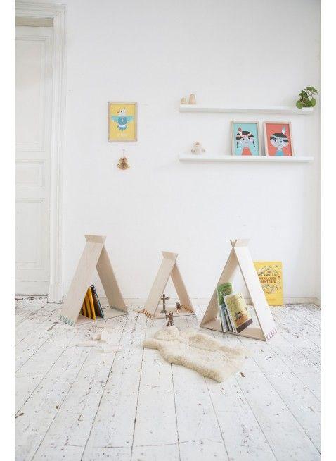 indianer feeling im kinderzimmer von julica design tipikids b cherregal set erh ltli. Black Bedroom Furniture Sets. Home Design Ideas