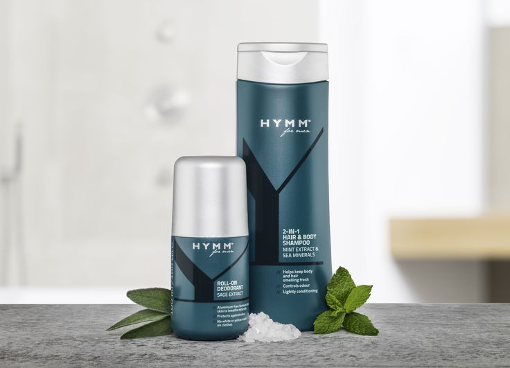 Déodorant et Gel douche 2 en 1 Shampooing #HYMM by #Amway !