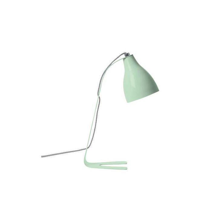 #vtwonencadeau Leitmotiv Barefoot Tafellamp - Mint Groen Lievelingskleur van mijn bijna 5-jarige, ik zie deze al staan op haar nieuwe bureau!