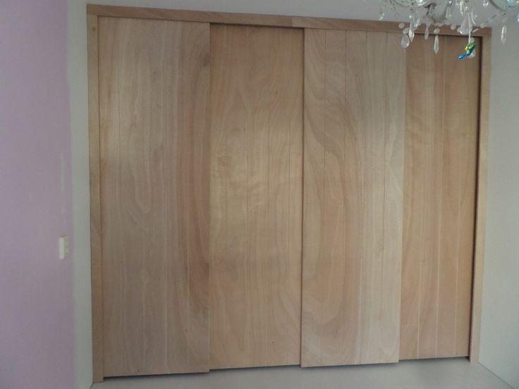 Kastdeuren van plaatmateriaal. De nieuwe trend! Verkrijgbaar bij MaatHout