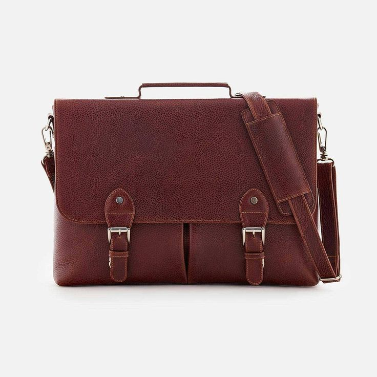 *SECONDS* Dalton Satchel - Full grain Leather - Oxblood