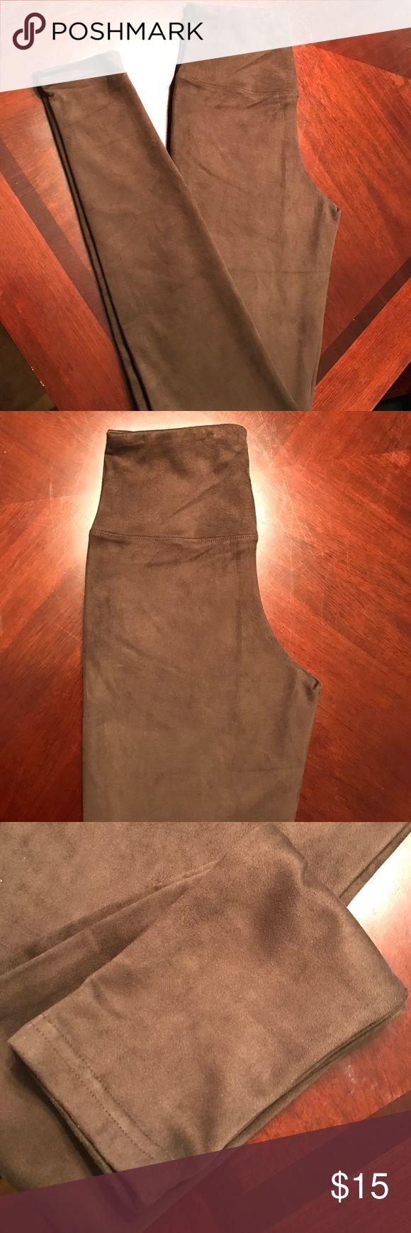 Brown Suede leggings Suede leggings | Brown  | size S/M | new with tags Rue 21 Pants Leggings