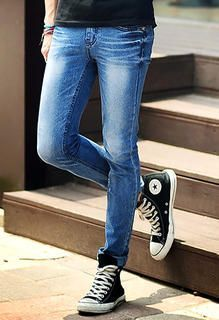 Leg warmers with skinny jeans and converse