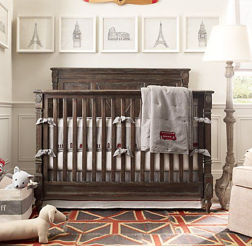 Jourdan Conversion Crib Cribs Restoration Hardware