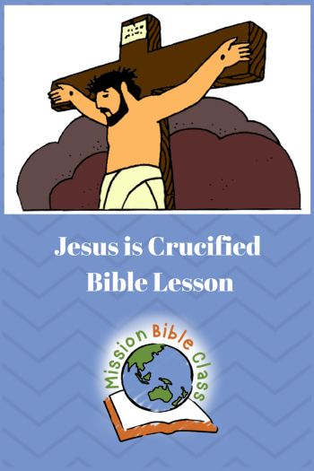 Jesus is Crucified Pin   Sunday school lessons jesus ...