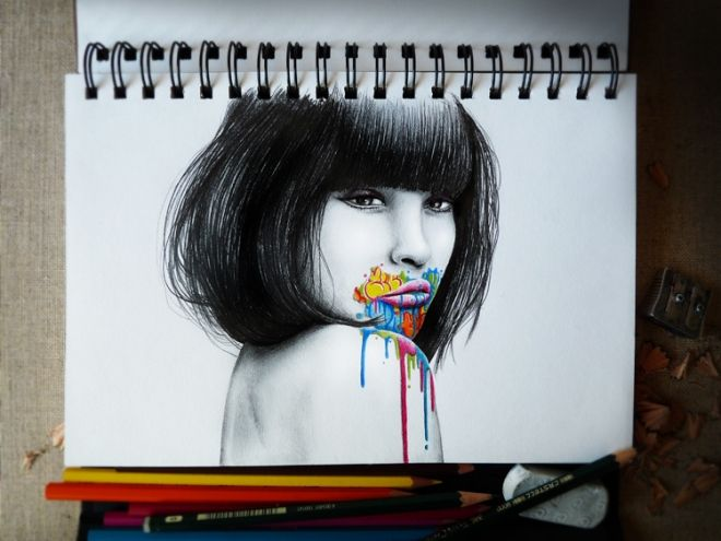 Mind-blowing graphite pencil doodles and sketches by French artist Pez | Creative Boom