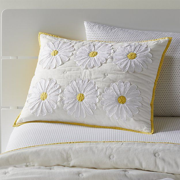 Daisy Pillow for Girls | Almofadas de