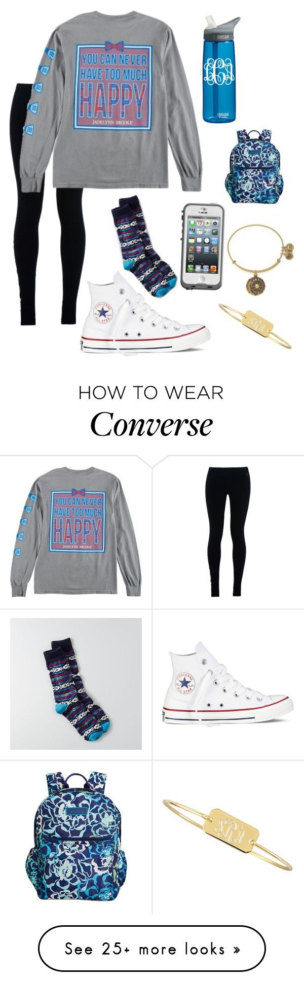 """Untitled #68"" by samhainessss on Polyvore featuring NIKE, Converse, American Eagle Outfitters, Sarah Chloe, LifeProof, Alex and Ani, CamelBak, Vera Bradley, women's clothing and women's fashion"