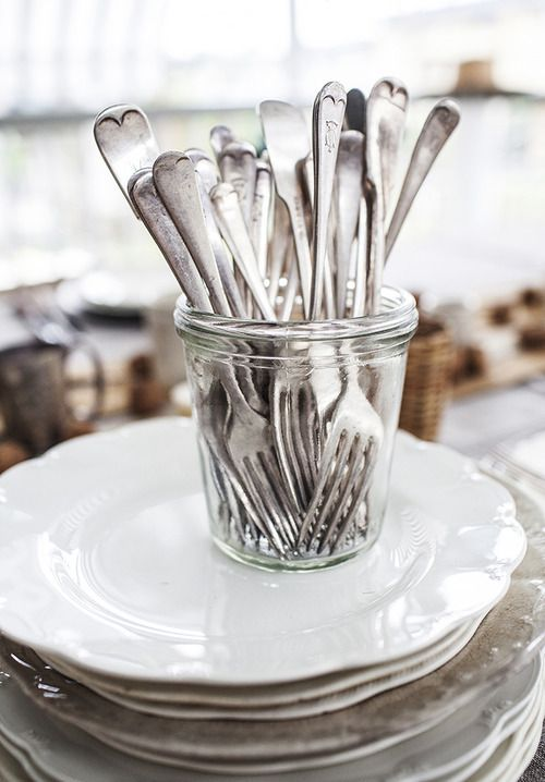 for all those extra silver forks i have that block up the drawer...
