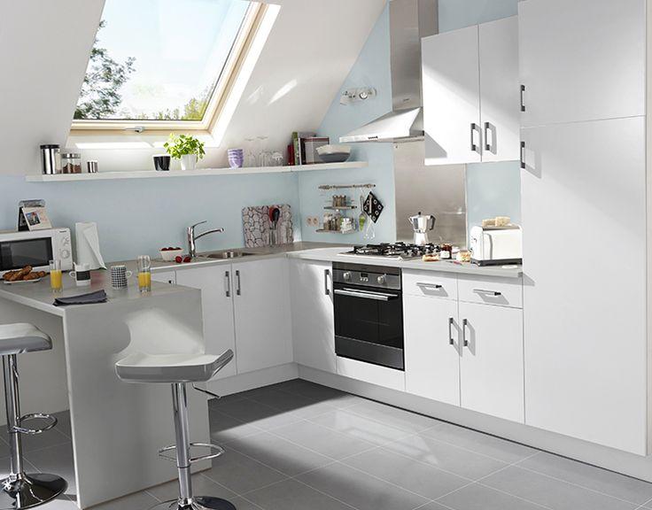Best Déco Blanc Images On Pinterest Salons Baby Room And Gray - Meuble bas cuisine castorama pour idees de deco de cuisine