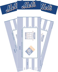 Tickets to Dads favorite baseball team (my husband loves the Mets!) #WaterpikgiftsforDad