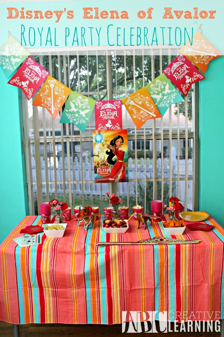 Check out our Disney's Elena of Avalor Royal Party Celebration! We are loving Elena the new Latina princess! #ElenaofAvalor #ad