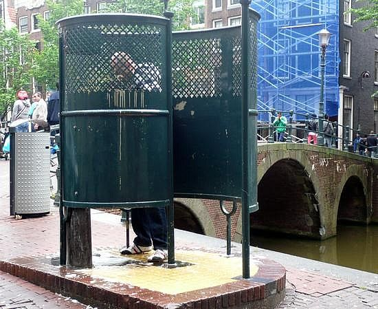 Urinals In Amsterdam Amsterdam My Second City