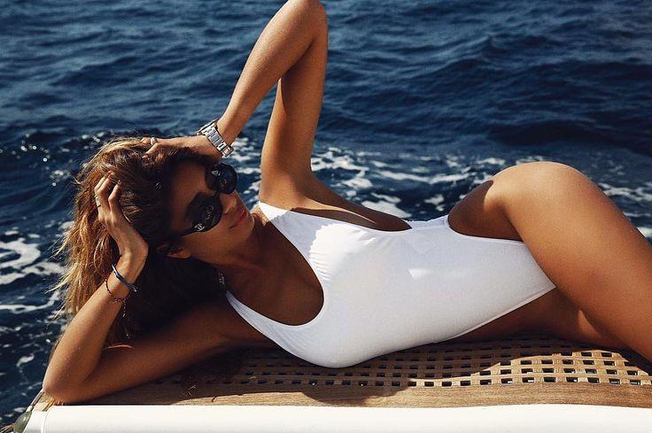 BABE  missing @aidashojaee in @uhlalabeachwear #swimsuit get yours online !  @aidashojaee
